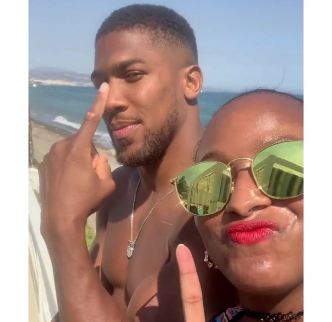 DJ Cuppy and Anthony Joshua sparks Up Dating Rumors as they Vacation in Spain (Video)