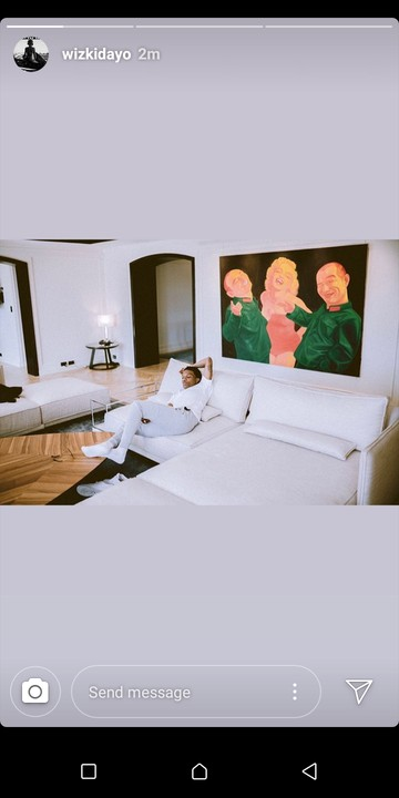 Wizkid Show Off Interior Of His Expensive Siting Room