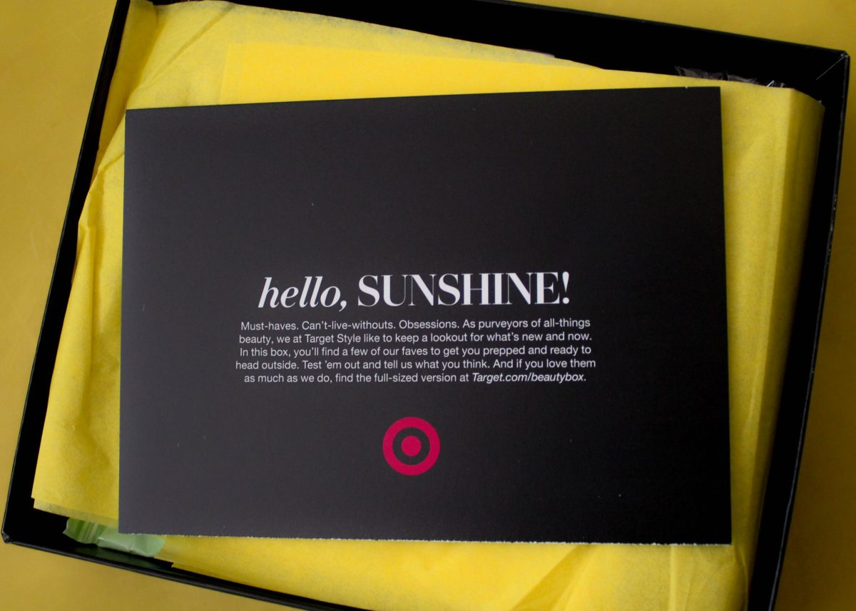 Unboxing April Target Beauty Box