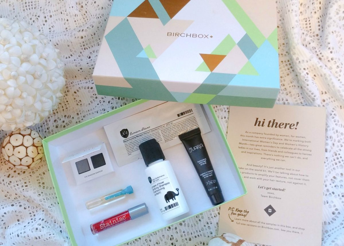 March Birchbox Unboxing (Spoilers)