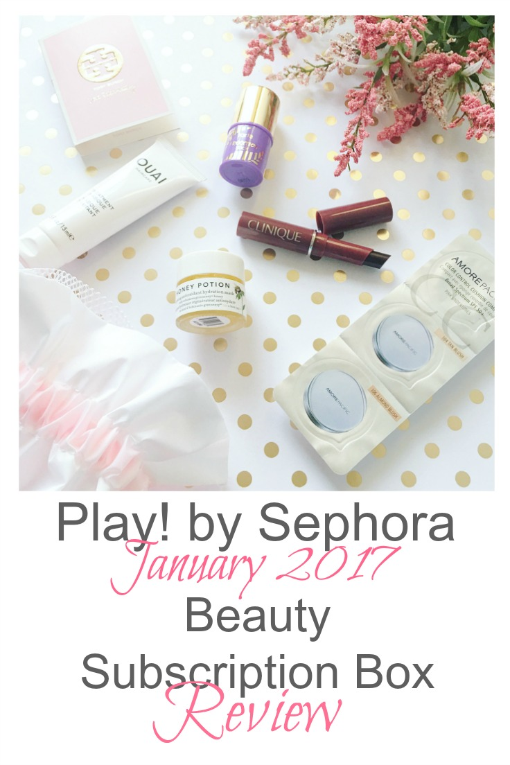 Play! by Sephora January 2017 Subscription Box