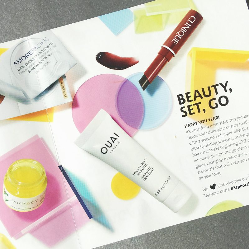 Play! by Sephora January 2017 Beauty Subscription Box Review