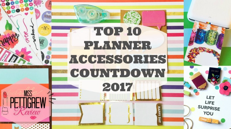Happy Planner 2017 Top 10 Planner Supplies Review