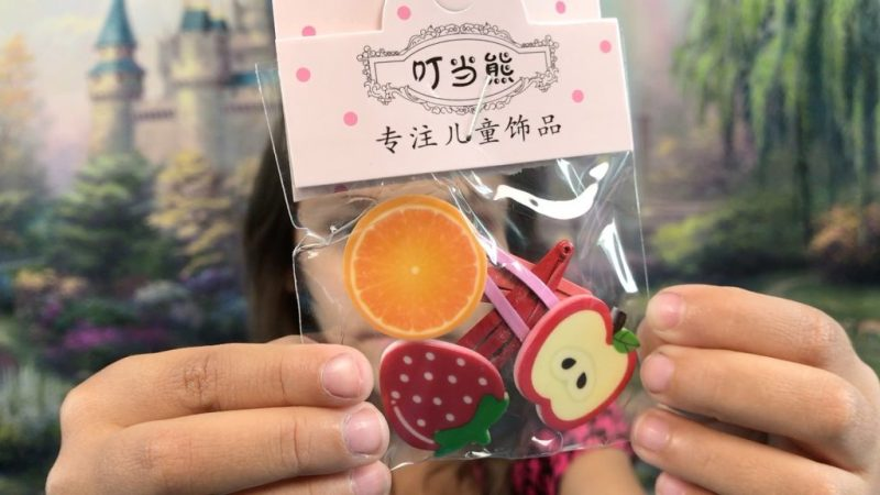 Blippo Kawaii fruity hair clips