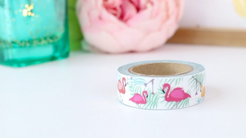 Flamingo Washi Tape