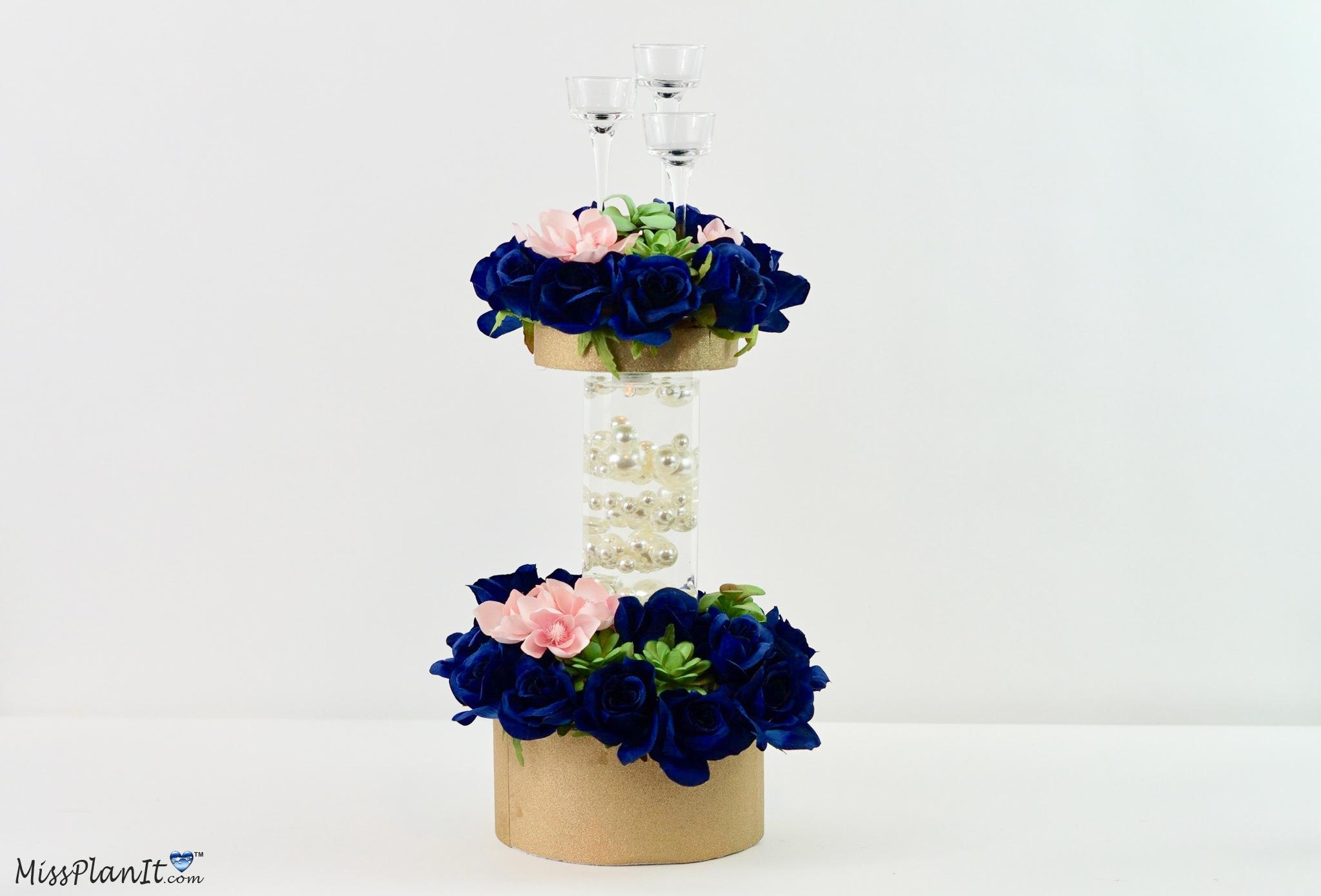DIY Amazing Nerdy Chic Unique Wedding Centerpieces