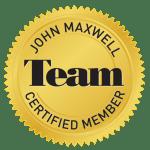 John Maxwell Team Certified Member Seal