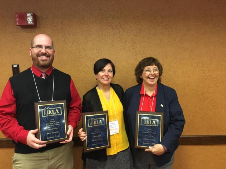 Kentucky Library Association Special Librarian of the Year 2016