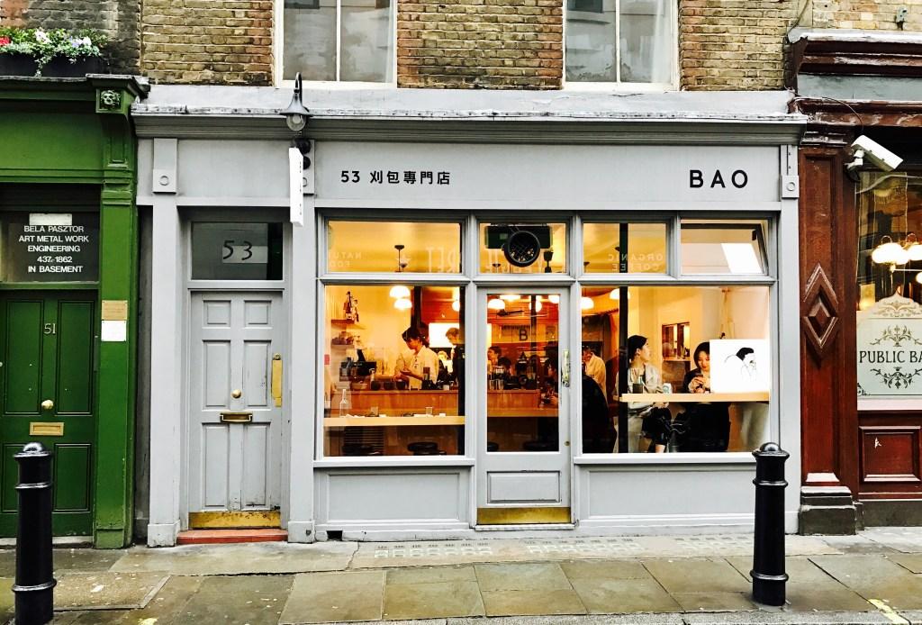 Restaurant Review of Bao Soho, London