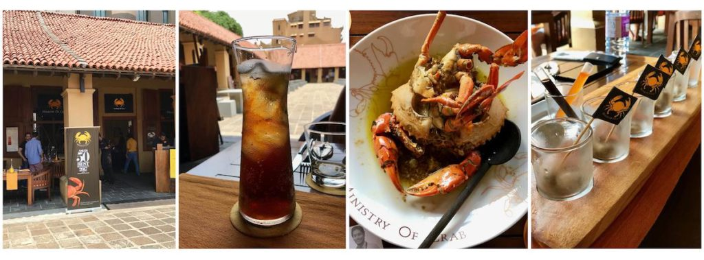 Ministry of Crab - Sri Lanka weekend - Club Elsewhere - The World's Travel Diary edited by Rosie Bell - A guest post by Lara Olivia Miss Portmanteau