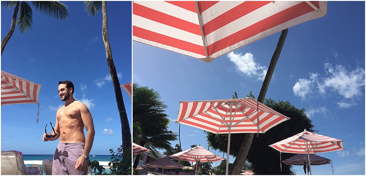 Barbados Umbrellas