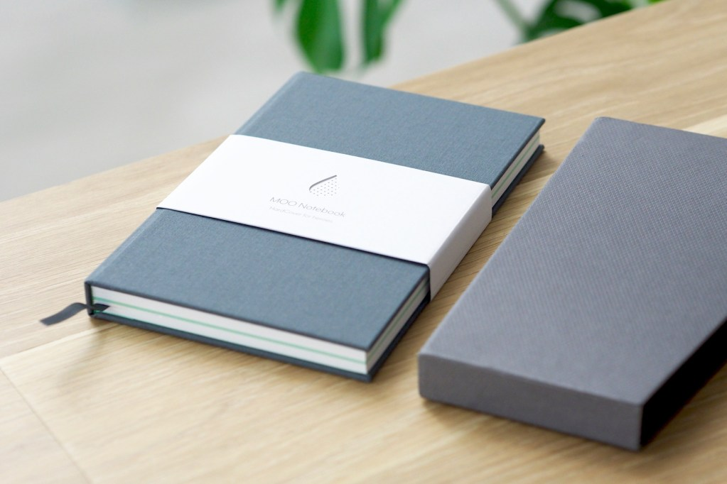 MOO vs Moleskine Notebook Review