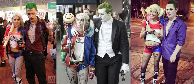Harley and Joker Halloween Costume ...  sc 1 st  Miss Portmanteau & Halloween Like Hollywood: Couples Costumes - Miss Portmanteau