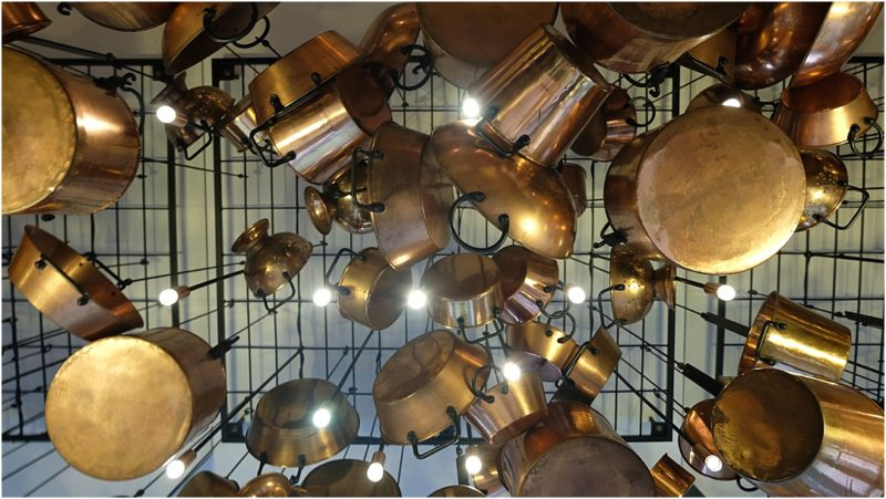 Tamra ceiling pots and pans