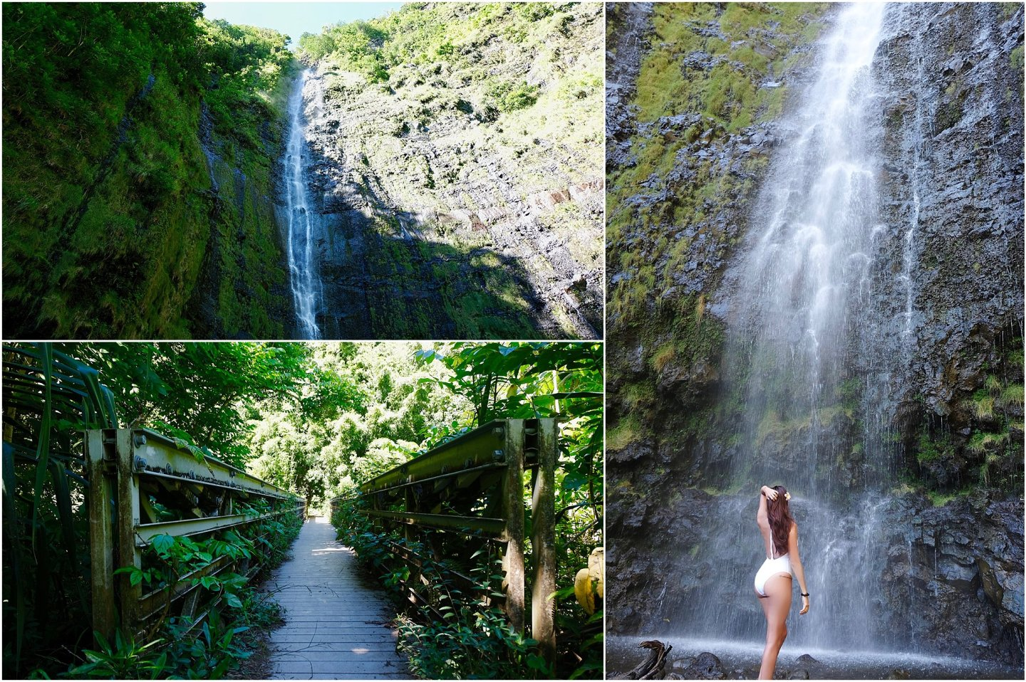Waimoku Falls- The road to Hana maui - Road or destination? Guest Post by Lara Olivia Miss Portmanteau? Club Elsewhere - The World's Travel Diary edited by Rosie Bell