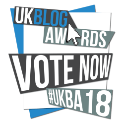 UK Blog Awards Vote