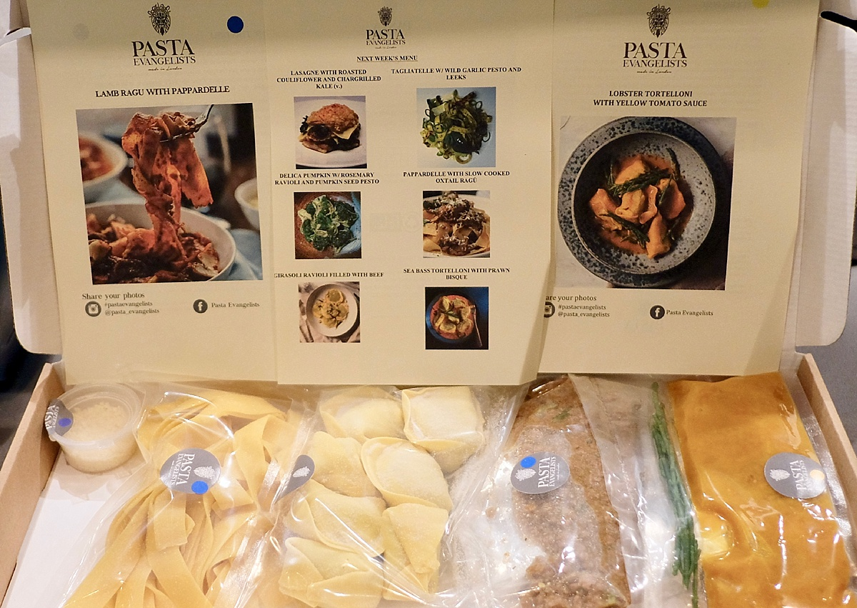 Pasta Evangelists Box Contents