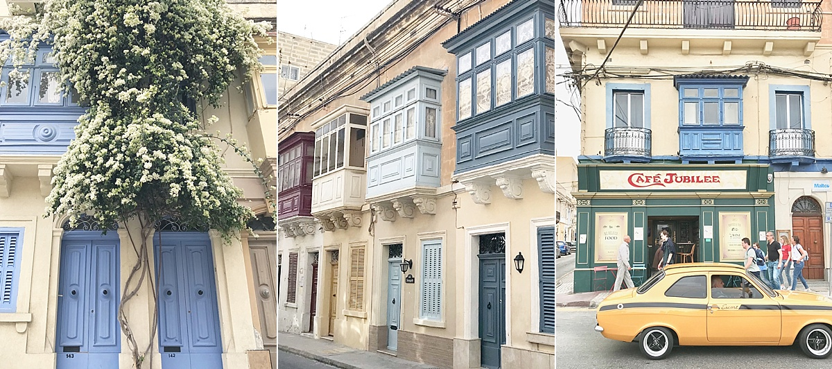 Architecture, Doors and Baclonies of Malta