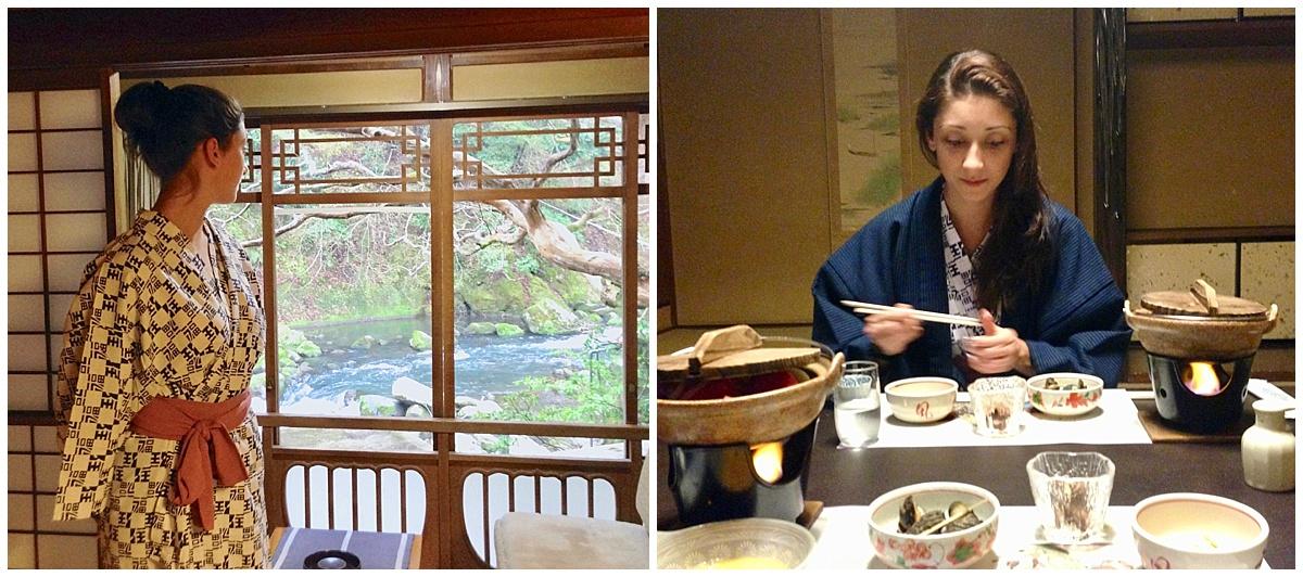 Ryokan Stay in Hakone Japan