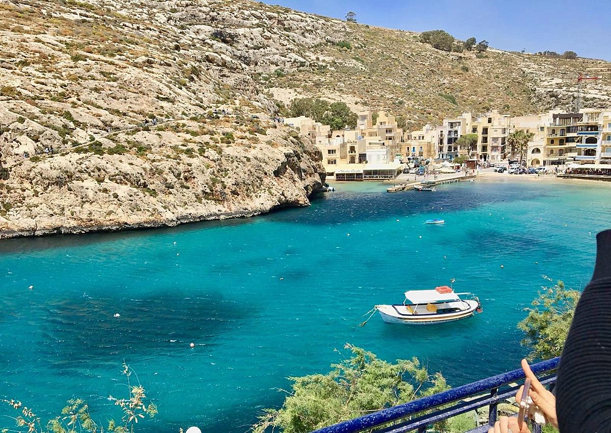Xlendi Bay in Gozo