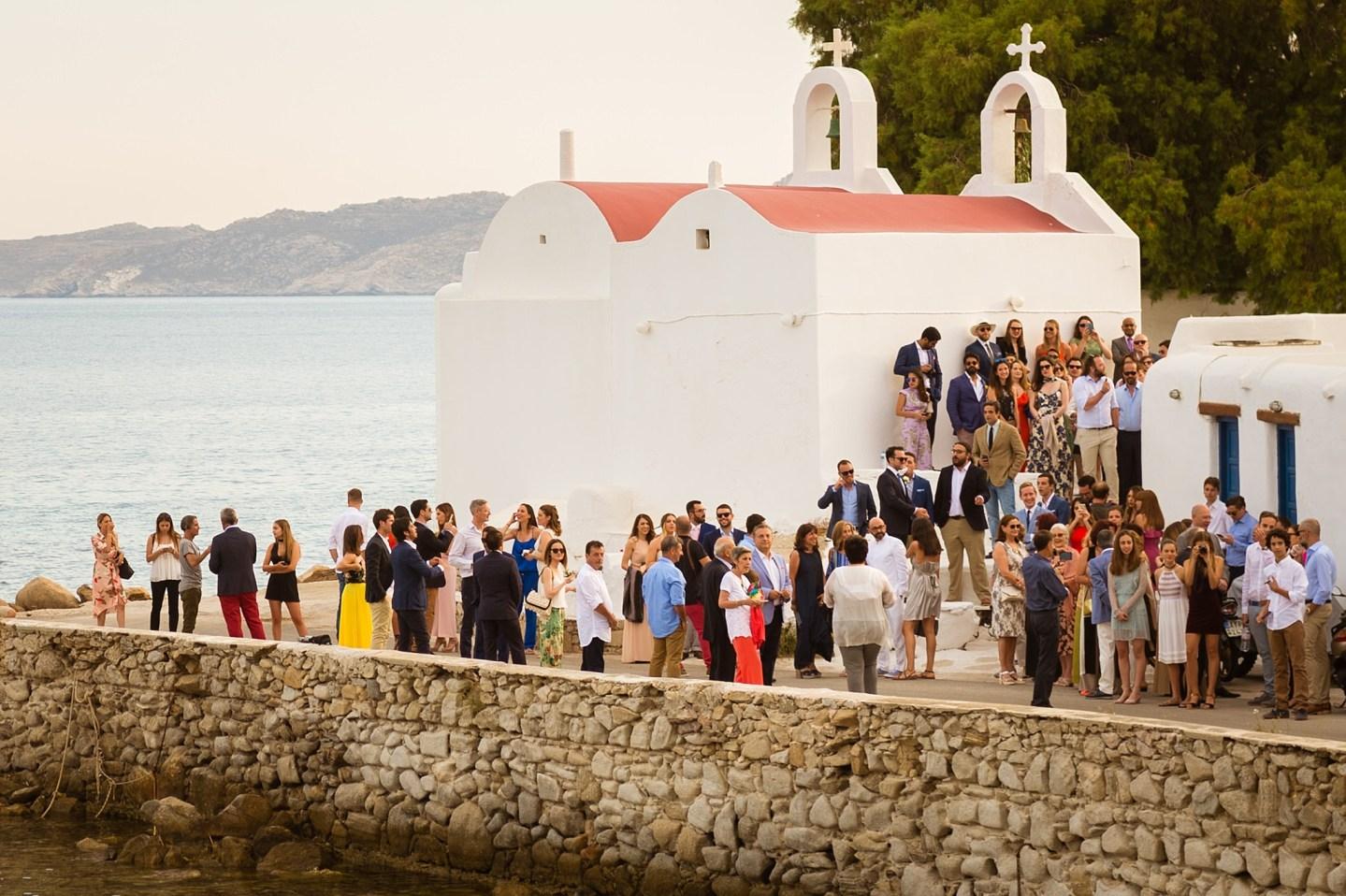 Mykonos Wedding Day
