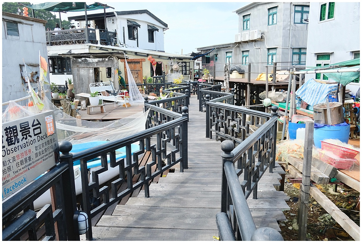 Tai O Fishing Village Boardwalk