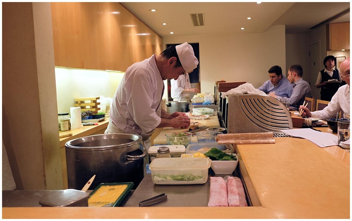 Chef Itamae Kiku London
