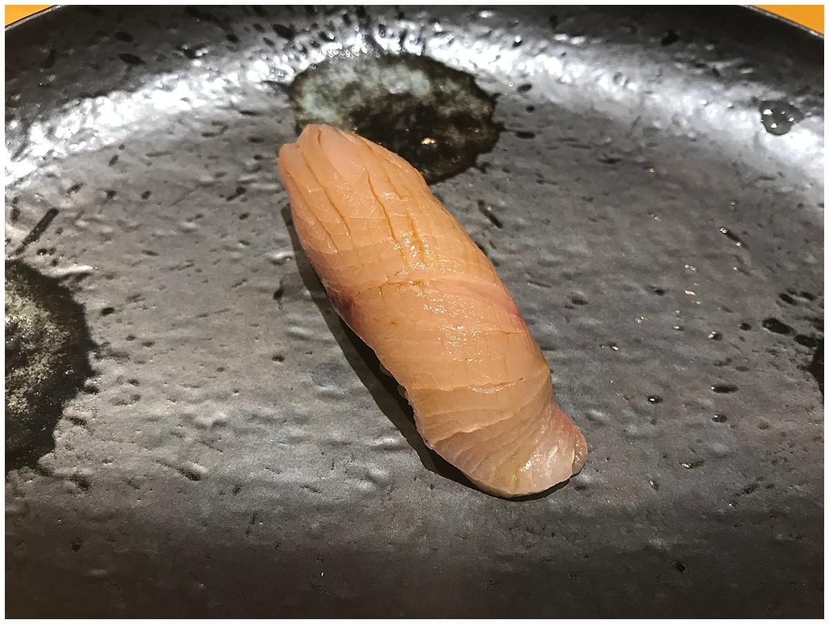 Sushi Tetsu Nigiri Yellowtail