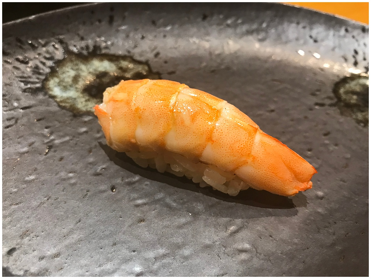 Sushi Tetsu Nigiri prawn