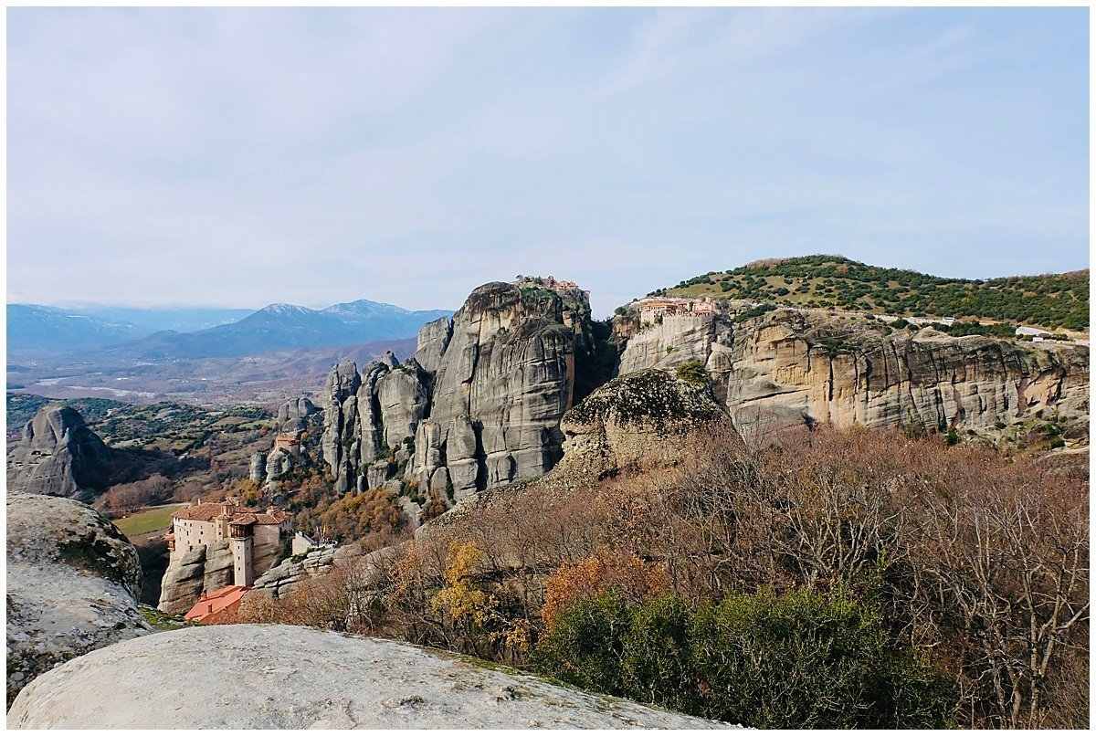 Meteora Monasteries and Views
