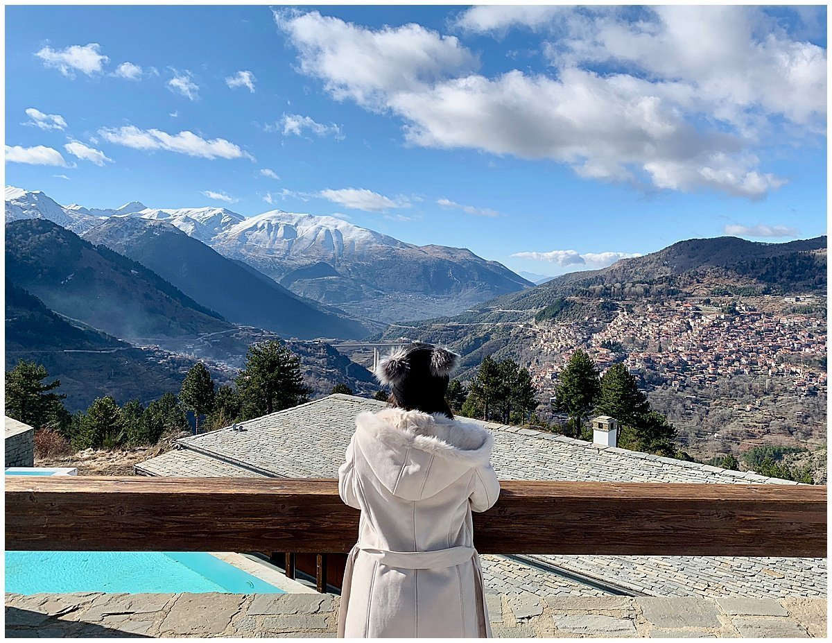 Grand Forest Metsovo SLH Views Travel Blogger