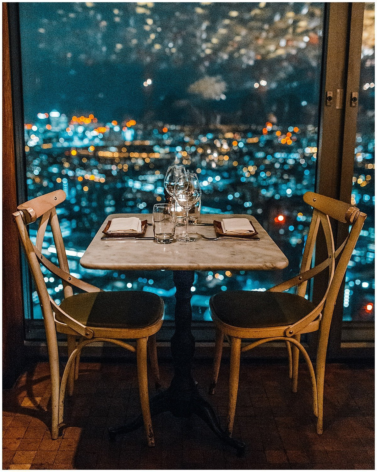 Romantic London Dinner with a view