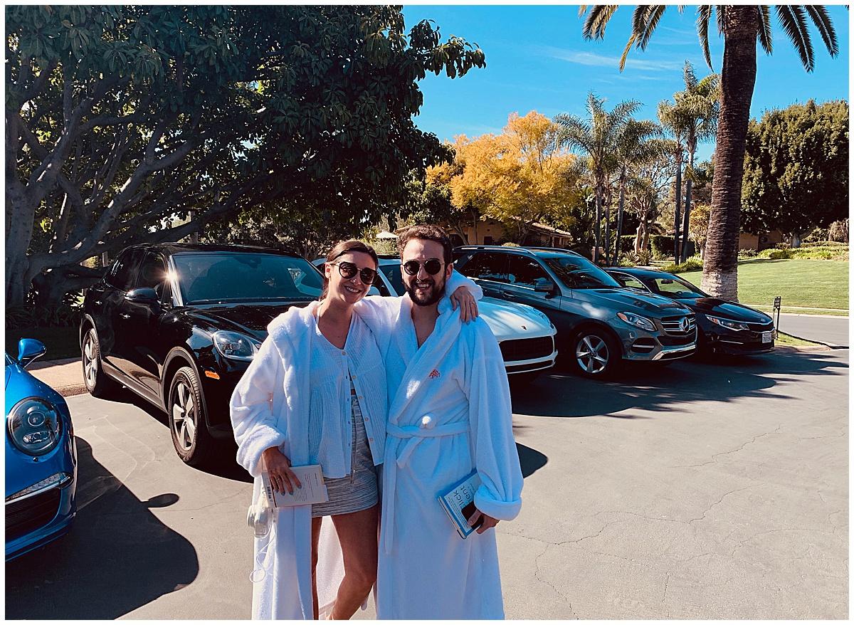 Porsche Fleet Rancho Valencia Hotel