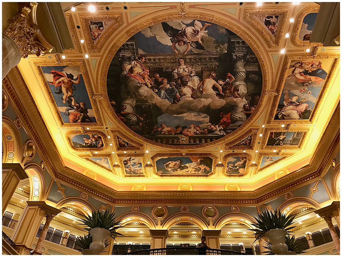The Ceiling at the Venetian