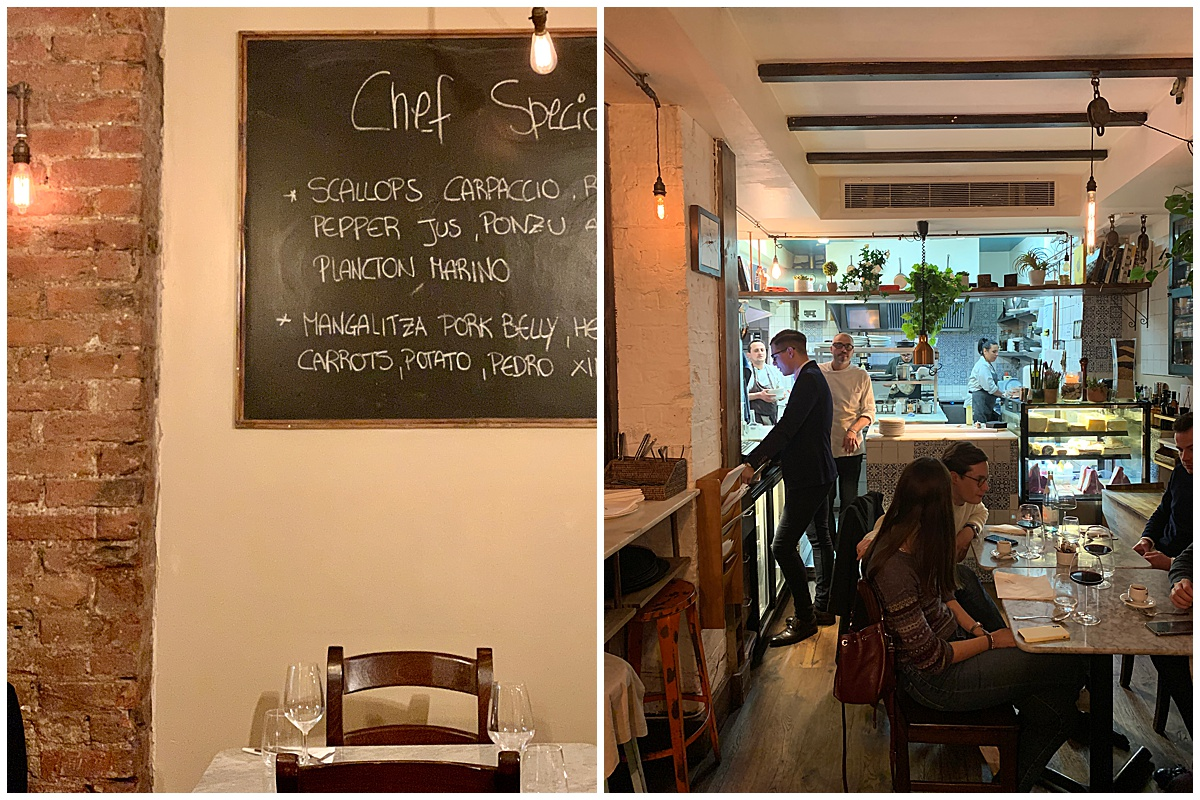 Interior Restaurant TWIST Marylebone