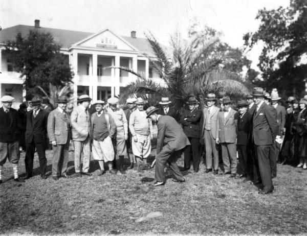 Edgewater Gulf Hotel Groundbreaking  Mississippi State University Digital Archive