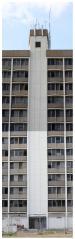 Elevator Shaft East Elevation. Santa Maria del Mar Apartments, Biloxi, MS. Nov. 2012