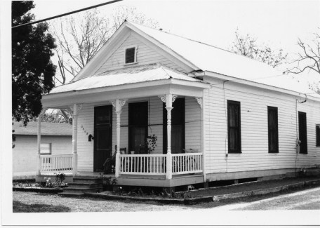 Nelson Tenement Pascagoula, Jackson County. From File 3194 National Register Nomination 1991