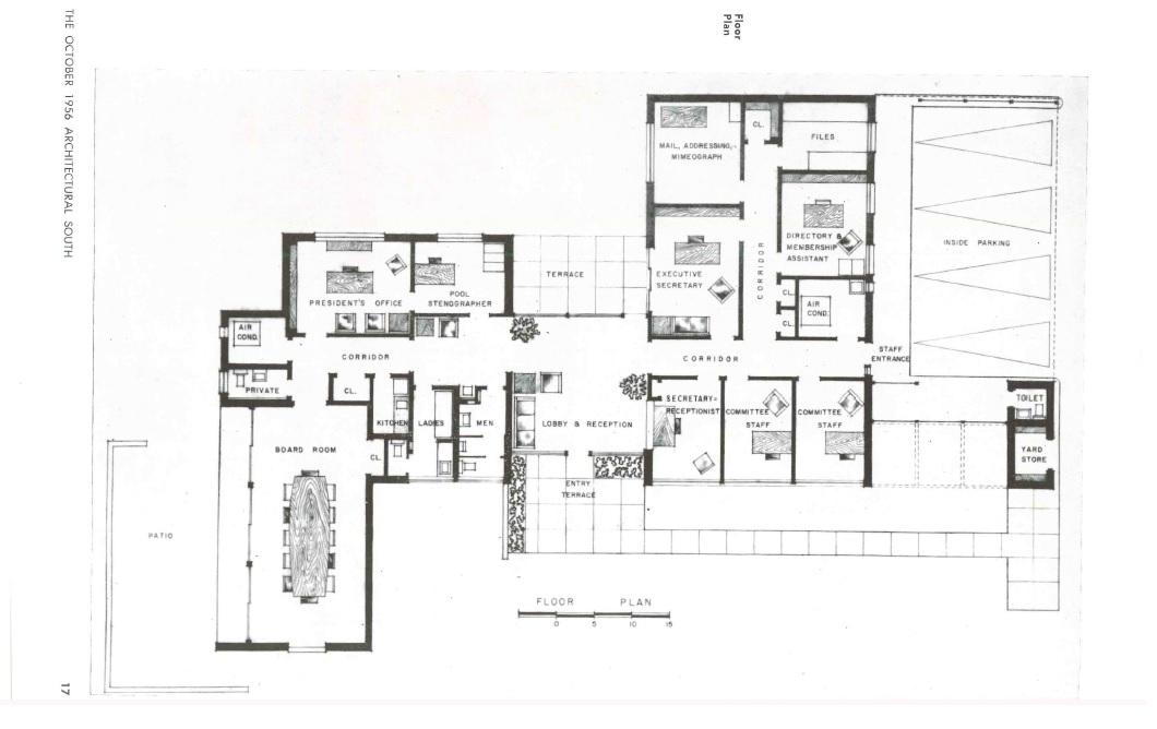 Floorplan, MS State Medical Association. Jackson, Hinds Co