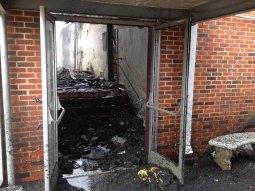Houlka School Fire1