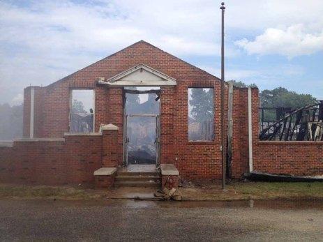 Houlka School Fire10