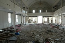 Interior First Presbyterian Church Gulfport Harrison County MDAH9-25-2005 from MDAH HRI db accessed 8-24-2014