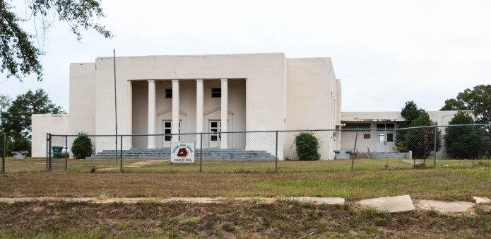 Vaiden High School front