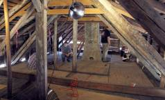 The attic of the LaPointe Krebs House. Image courtesy of the Sun Herald. http://www.sunherald.com/news/local/counties/jackson-county/article61427667.html
