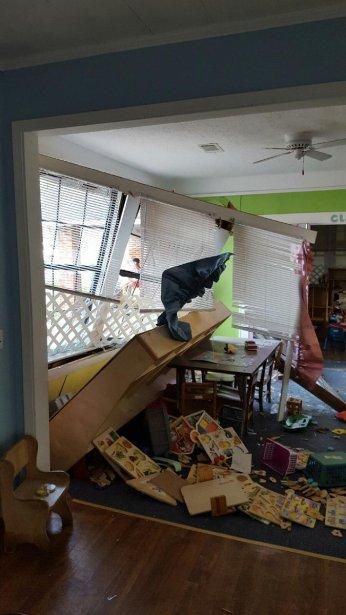 Car hits historic house interior WTVA