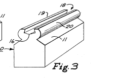 Detail fig 3 from patent for Gravity Ventilator 3-19-1965
