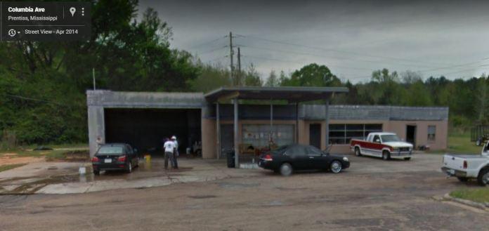 former Pan Am Station Prentiss, Mississippi April 2014 Google Streetview