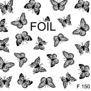 Stickers al agua nº 115: Mariposas