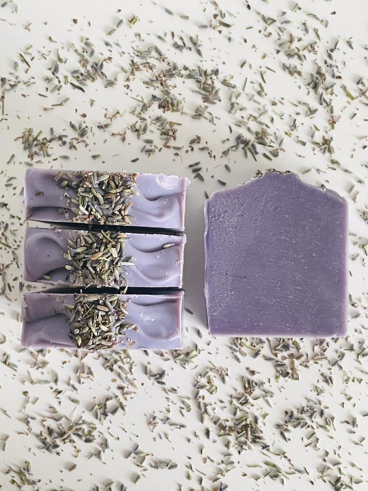 Jabón sólido de Lavanda y Geranio