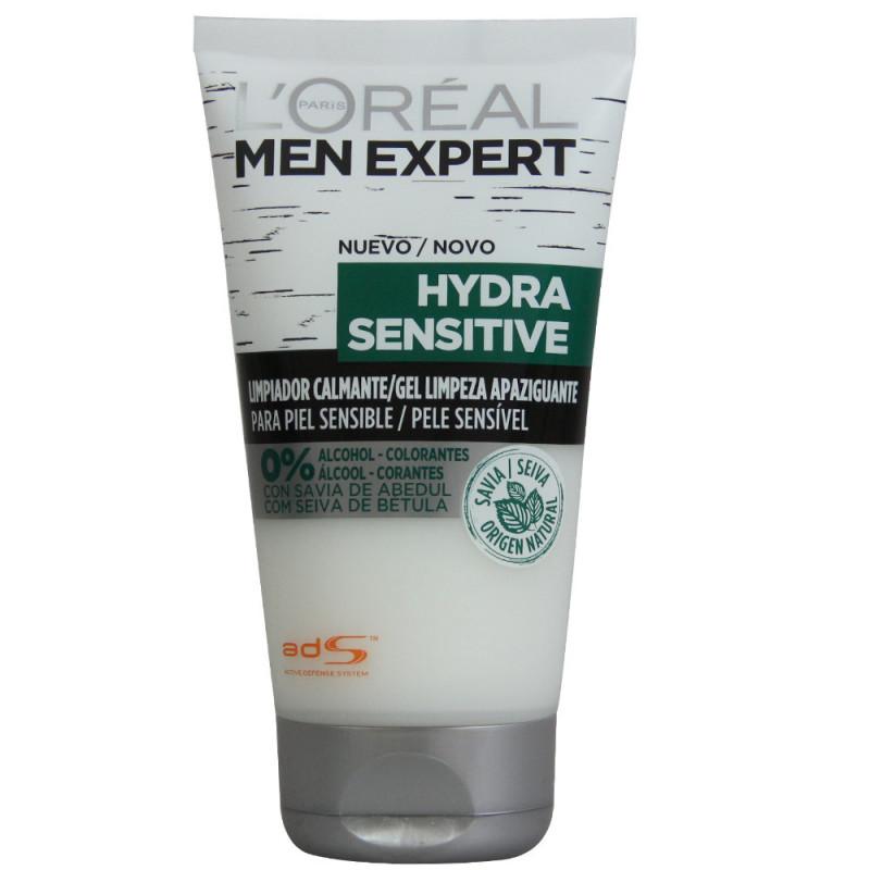 Men expert gel limpiador Hydra sensitive calmante.